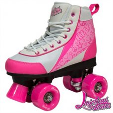 Luscious Retro Quad Skates - Strawberry Kiss - Kids/Ladies