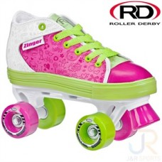 Roller Derby Zinger Girls Quad Skates