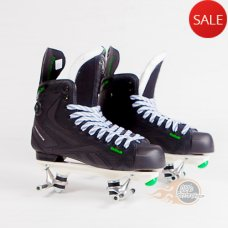 Reebok RibCor 24K Pump Quad Skates - Probe/Rock Plate (No Wheels/Bearings) - Bauer Style