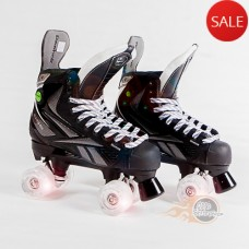 Reebok 9K Pump Quad Skates - Light Up Wheels - Bauer Style