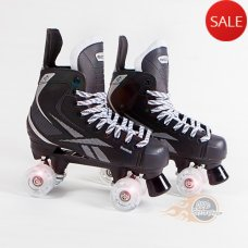 Reebok 5K Quad Roller Skates - Light up Wheels - Bauer Style - Senior