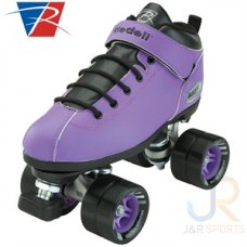 Riedell Dart Speed Skates Purple