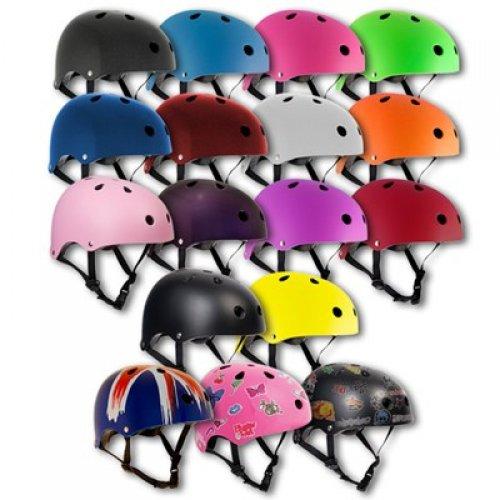 SFR Essentials Matt Blue Adjustable Helmet