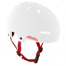 REKD Elite Helmet White/Red