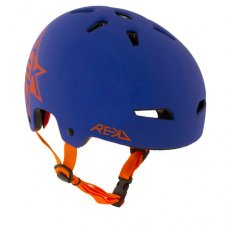 REKD Elite Icon Helmet Blue/Orange