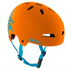REKD Elite Icon Helmet Orange/Blue
