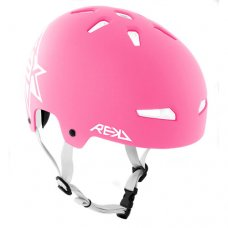 REKD Elite Icon Helmet Pink/White