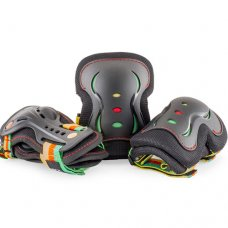 SFR Guava Black Triple Pad Sets - Junior