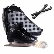 SFR Galaxy Ice Skate Package Black