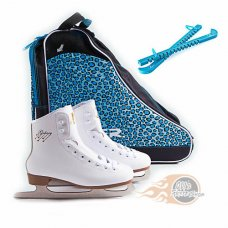 SFR Galaxy Ice Skate Package White