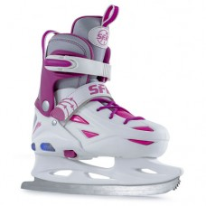 SFR Eclipse Light Up Ice Skate - White