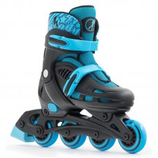 SFR Children's Adjustable Spirit Inline Roller Skates - Black/Blue
