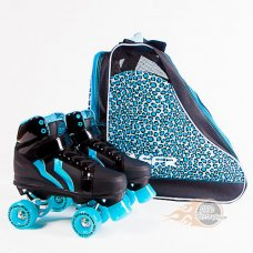Rio Roller Kicks Style Quad Skates with Bag