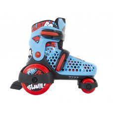 SFR Stomper Boys Adjustable Quad Roller Skates