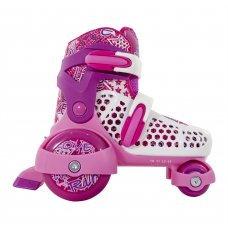 SFR Stomper Girls Adjustable Quad Roller Skates