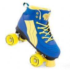 Rio Roller Pure Quad Skates Kids/Adults - Blue Yellow
