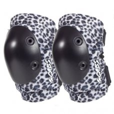 Smith Scabs Elite Elbow Pads White Leopard - Adult