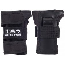 187 Killer Wristguards Black
