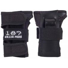 187 Killer Wristguards Black