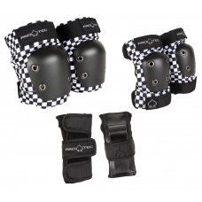 Pro-Tec Padset Street Gear Junior 3 Pack - Checker