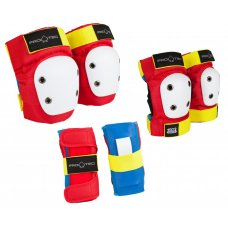 Pro-Tec Padset Street Gear Junior 3 Pack - Retro