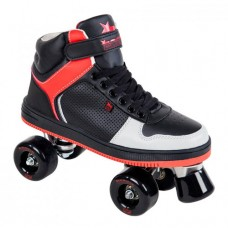 Rookie Hype Hi Top Trainer Quad Skate Black/Red