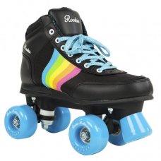Rookie Quad Roller Skates Forever Rainbow Black