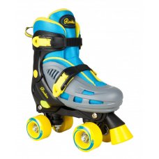 Rookie Adjustable Duo Quad Roller Skates