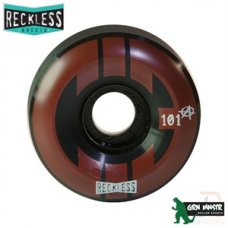 Reckless x Chicks in Bowls Quad Ramp Wheels 58mm 101A (4 pack)
