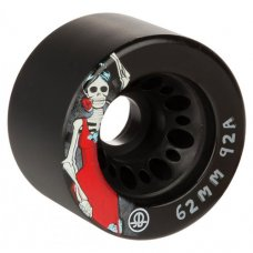 Rollerbones Day of the Dead Quad Wheels Black x4