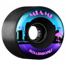 Rollerbones Quad Wheels Miami Outdoor 80A 8 Pack