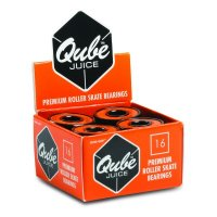 QUBE Juice Bearings - Sure-Grip Pk16