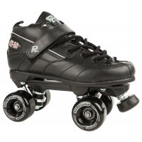 Sure-Grip Rock GT-50 Aerobic Outdoor Quad Roller Skates Black