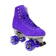 Sure-Grip Boardwalk Quad Roller Skates - Purple