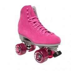 Sure-Grip Boardwalk Quad Roller Skates - Pink