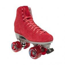 Sure-Grip Boardwalk Quad Roller Skates - Red