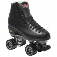 Sure-Grip Fame Artistic Quad Skates - Black