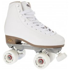 Sure-Grip Fame Artistic Quad Skates - White