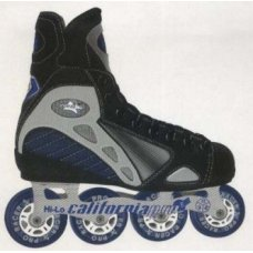 California Pro - Pro Racer Blue Hockey Skate