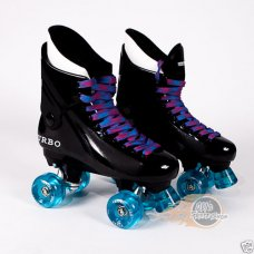 Ventro Pro Turbo Quad Roller Skates - Light Blue