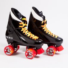 Ventro Pro Turbo Quad Roller Skates - Orange