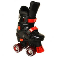Ventronic Rollo Adjustable Black/Red Quad
