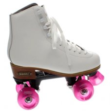 Ventronic Boston II Leather Quad Skate - White